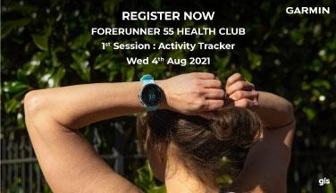 Garmin Forerunner 55 Health Club